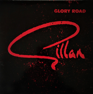 Gillan ‎- Glory Road (LP) (VG-/VG-)